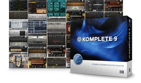 Native Instruments' Komplete 9 is pretty much all a producer will ever need | Choi's Music industry news | Scoop.it