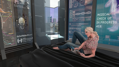 The hotel room of the future will be an immersive digital experience and a bit creepy, too | Webmarketing hotellerie | Scoop.it