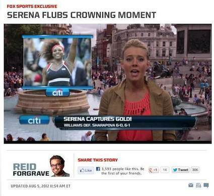 Fox Again Injects Racism Into Olympics By Attacking Serena Williams | Daily Crew | Scoop.it