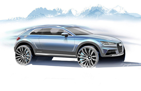 Audi's New concept SUV Teases out | AllOnAuto.com | New Cars and Bikes in India | allonauto.com | Scoop.it