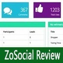 ZoSocial Review: Facebook Contest Application   ZoSocial Review   Scoop.it