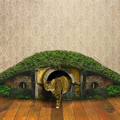 "The ""Hobbit Hole Litter Box"" is even more beautiful than we imagined - io9 