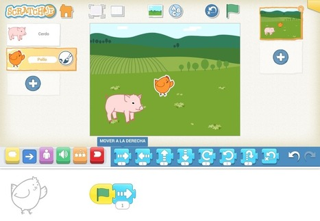 Now available: ScratchJr 1.2 with support for Spanish | Programació i robòtica a l'aula | Scoop.it