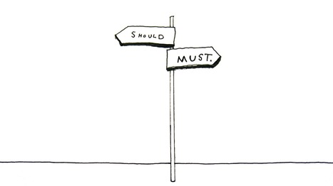The Crossroads of Should and Must | Elle Luna | Public Relations & Social Media Insight | Scoop.it