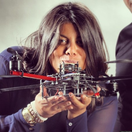 Matternet founder Paola Santana Wants To Replace The Postal System With Drones | Ogunte | Women Social Innovators | Scoop.it