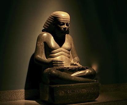 Amenhotep fils de Hapou : des statues du scribe d'Aménophis III | Égypt-actus | Scoop.it