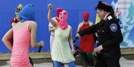 A Sotchi, les Pussy Riot fouettées en place publique   Russie et géographie   Scoop.it