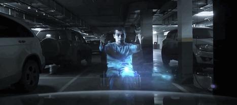 En Russie, des hologrammes rappellent aux conducteurs que cette place est réservée aux handicapés   Bons plans Wordpress   Scoop.it