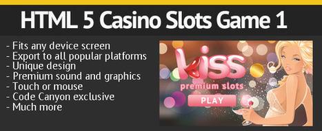 Premium HTML 5 Casino Slots Game 1 - HTML CSS | Themes4Free | Scoop.it