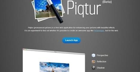 Piqtur, sencillo editor de imágenes online con efectos para tus fotos | Recull diari | Scoop.it