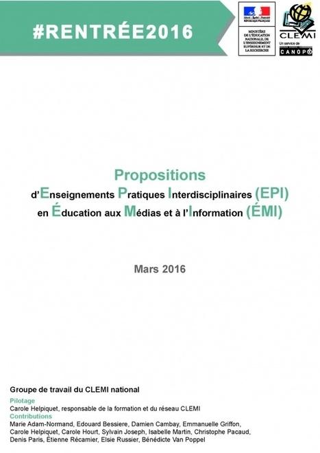 Dispositifs et ressources - La formation, mission phare du CLEMI - Le Clemi - Le CLEMI | Ecole numérique | Scoop.it