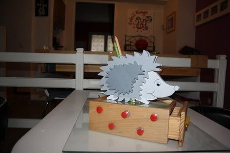 [Coup de ♥] Boîte à crayons pour enfant par Trubidon sur le #CDB | Best of coin des bricoleurs | Scoop.it