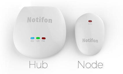 Notifon transforme n'importe quel objet en objet connecté | Connected-Objects.fr | Domotique, robotique et objets connectés sur le Net | Scoop.it