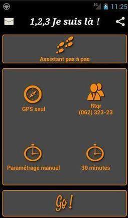 Envoyer sa position géographique par SMS automatiquement sur Android, 1, 2, 3 Je suis là   Les Infos de Ballajack   Geeks   Scoop.it
