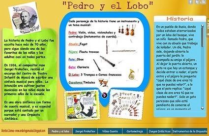 La magia de contar un cuento con música: Pedro y el Lobo | Nuevas tecnologías aplicadas a la educación | Educa con TIC | Recull diari | Scoop.it