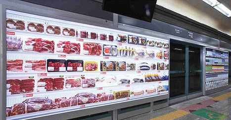 The World's First Virtual Supermarket: Life Just Got Easier | Food Automation And Supermarket Warehouses | Scoop.it