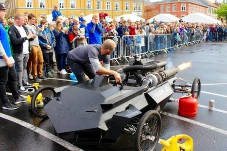 Jet Engines at Trondheim Maker Faire | Make: | Heron | Scoop.it