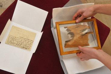 Un morceau de tissu de la momie de Ramsès II a été trouvé dans le musée ethnographique d'Olomuc (République tchèque) | Égypt-actus | Scoop.it