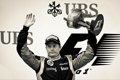 Twitter / Lotus_F1Team: Well, here's the shot you've ... | Kimi Raikkonen - Iceman | Scoop.it