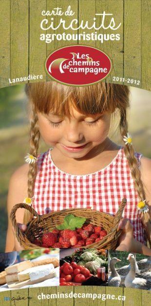 Une nouvelle édition de la carte Les Chemins de campagne -  L'Action   Agritourisme et gastronomie   Scoop.it