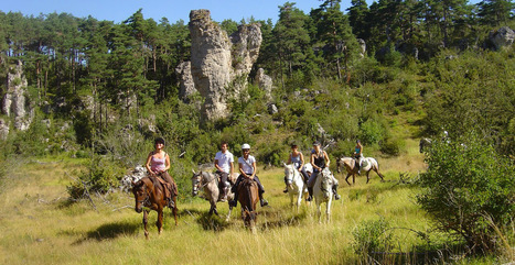 Tourisme équestre en Aveyron : un site dédié | L'info tourisme en Aveyron | Scoop.it