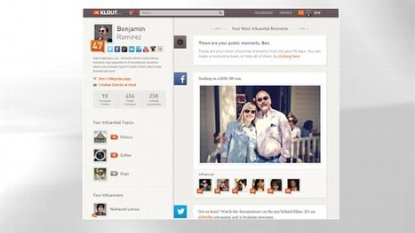 Klout Revamps Website and Scoring To Provide More Information on Your Social Media Influence | SMB Social Media Monitor | Scoop.it