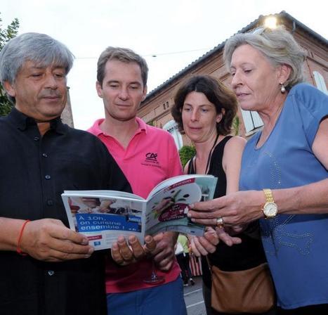 Des chefs et  des frontons réunis dans un livre | Haute-Garonne tourisme | Scoop.it