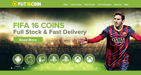 Buy FIFA Coins, FIFA 16 Coins on FUT16COIN.com | Latest News, Updates, Videos and Gameplay on UFIFA16.net | Scoop.it