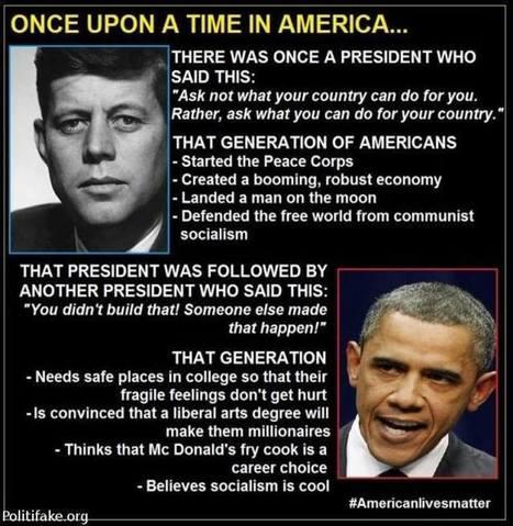 Evolution of the Democrat Party: JFK vs Barack Obama | THE MEGAPHONE | Scoop.it