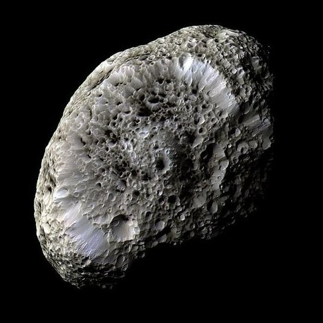 Saturn's sponge-like moon Hyperion | Politically Incorrect | Scoop.it