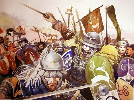La guerre des Gaules: La charge des Gaulois | La Guerre des Gaules en BD | Scoop.it