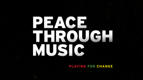 MUSIC FOR PEACE   Music For Peace   Scoop.it