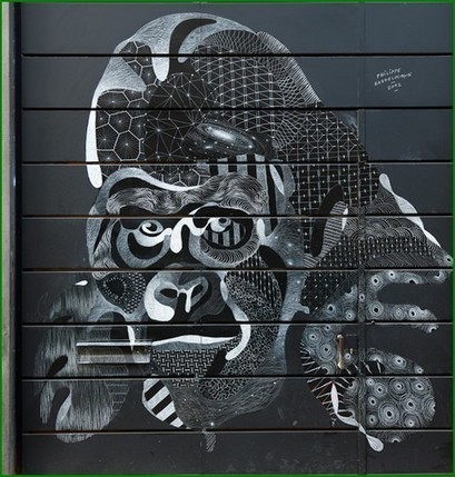 Le street art à la craie de l'artiste Philippe Baudelocque | au secours j'ai un blog !! | Graphisme up | Scoop.it