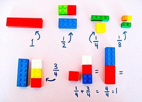 Ce prof utilise des LEGO pour enseigner les maths aux enfants ! | Competitive Intelligence & Creativity | Scoop.it