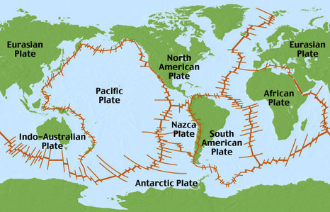 Volcanoes and Earthquakes | Landforms and Oceans: How Natural Processes Affect Oceans and Land | Scoop.it