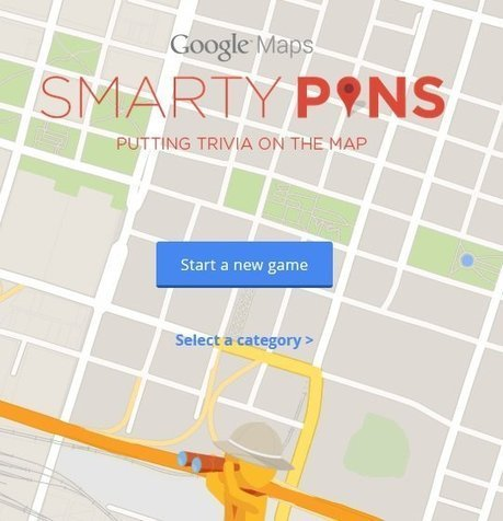 """Smarty Pins"" Is A New Geography Game From Google 