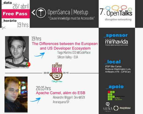 OpenTalks #7 OpenSanca | Entrepreneurship, Startups and Social Business | Scoop.it