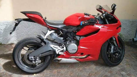 Spy Photo: Ducati 899  Spotted on FaceBook | Ducati & Italian Bikes | Scoop.it