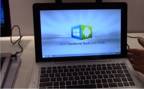Mono-live: Android and Windows convertible Asus Transformer Book Duet TD300 | Elixir of Knowledge | Scoop.it