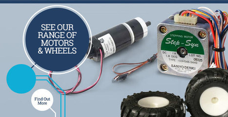 Robots | Robotics Parts | Robot Kits | Active Robots Shop | Robotics in Manufacturing Today | Scoop.it