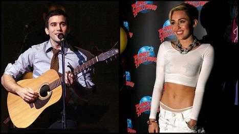 Sufjan Stevens Takes Miley Cyrus to Task -- For Her Grammar   English   Scoop.it