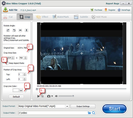crop video windows 7/8/xp | video editor | Scoop.it