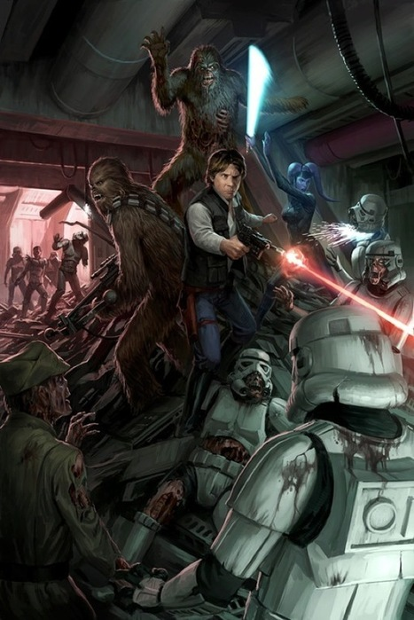 Zombie Star Wars | InspireFirst | Busty Boobs Babes | Scoop.it