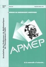APMEP : Bulletin 520 | Les revues de la médiathèque | Scoop.it