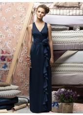 Sheath Column V Neck Floor Length Dark Navy Bridesmaid Dress Bbll0013 for $319 | 2014 landybridal wedding party dresses | Scoop.it