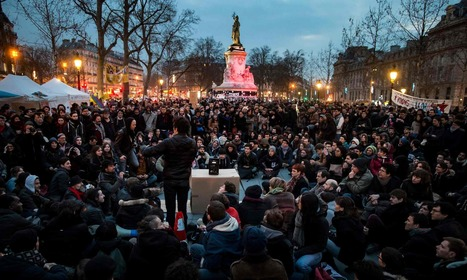 Nuit debout protesters occupy French cities in revolutionary call for change | networks and network weaving | Scoop.it