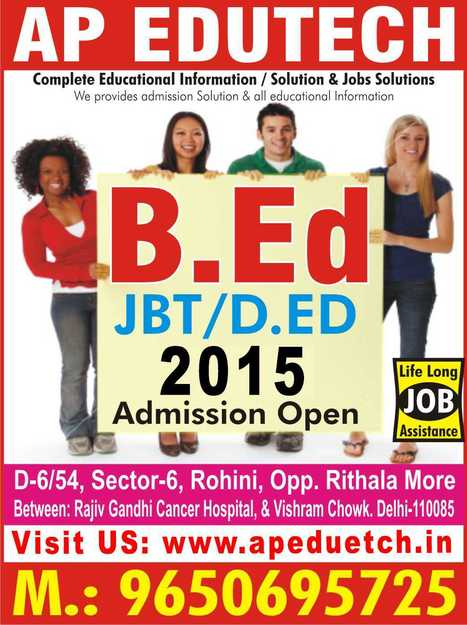 correspondance | Distance | Regular B-Tech Admission Delhi 2015 | jammubed2014 | Scoop.it