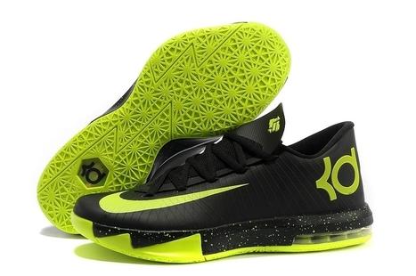 Nike Zoom KD 6 Black Green for sale | Cheap KD Shoes | Scoop.it