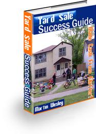Yard Sale Success Guide | Smart eBooks | Scoop.it