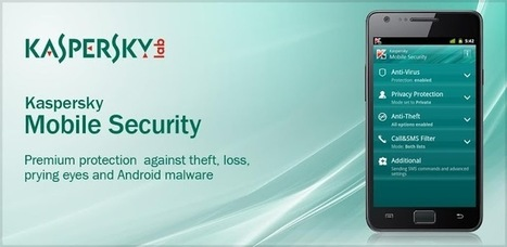 Descargar Kaspersky Mobile Security para Android | Ultimate Tech-News | Scoop.it